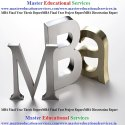 MBA Final Year Dissertation Report Service Provider for IIFT In  India