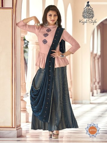 Designer Kajal Style Kurti Of Fashion Lakme Vol-4