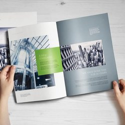 Brochure Designing Service, Dimension / Size: Standarised