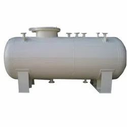 Cylindrical Industrial Vessel