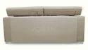 Adorn India Bentley 3 Seater Sofa ( Grey)
