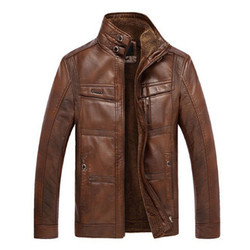 Full Sleeve XL and Medium Leather Winter Jacket