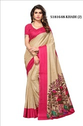 Fancy Casual Bhagalpuri Sarees