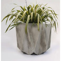 Grey Rcc Flower Pot, Size: 2 Feet