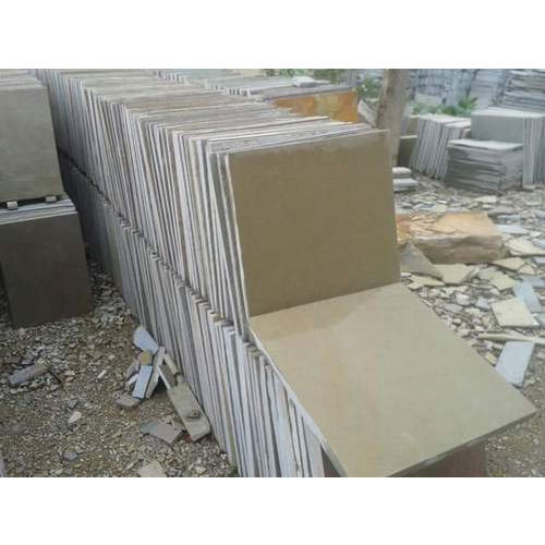 Kota Yellow Limestone, for Flooring, Packaging Type: Wooden Crates