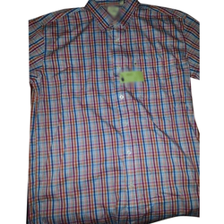 Icfc Slim Fit Mens Casual Check Cotton Shirt