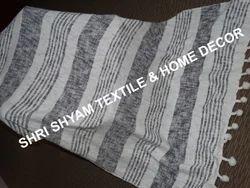 Balajee 100% Cotton Woven Throw Blanket, Size: 130 x 170 cm