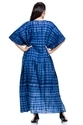 Shibori Dyed Ladies Kaftan