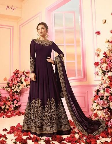 1231c67900 Nitya Embroidery Designer Party Wear Stylish Anarkali Salwar Suit ...
