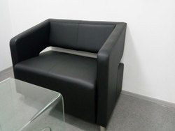 Kohinoor Furniture Black KF-LSS-46 Luxurious Sofa Set for Home