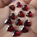January Birthstone Oval Shape Garnet Faceted Loose Gemstone