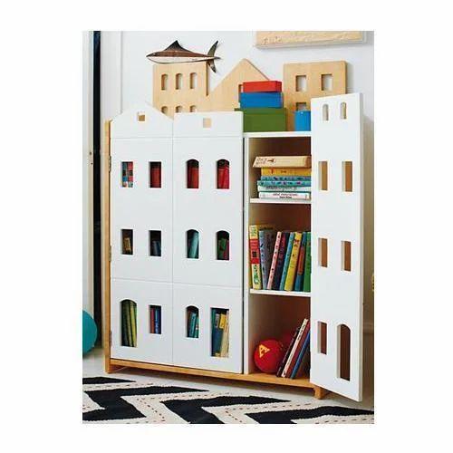 Wooden Kids Storage Cabinet