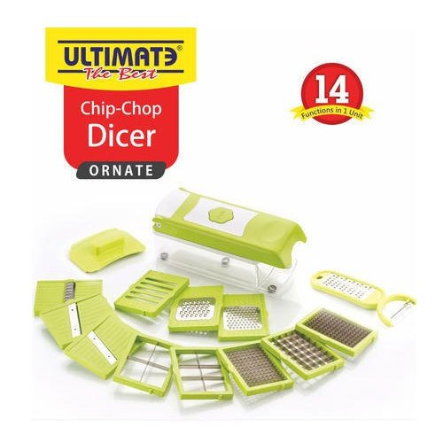 14 in 1 Ultimate Chip Chop Dicer, Packaging Type: Box