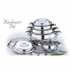 Stainless Steel Kashmiri Pot Set
