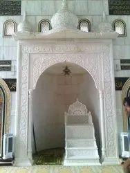 Indoor Round Marble Masjid Member