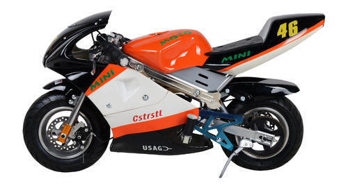 fc21ca740732 Blue And Red 24V 250W Kids Electric Pocket Bike, Rs 18999 /piece ...