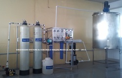 Dialysis Concentrate Making  RO Plant