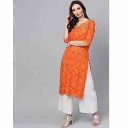 Half Sleeve Ladies Jaipuri Kurti