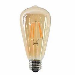 Warm White 5w LED Filament / Hanging Lamp for Home, 200V-250V