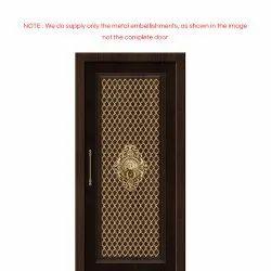 Polished Brass Door