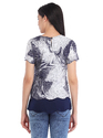 Cottinfab Women's Printed Layered Top