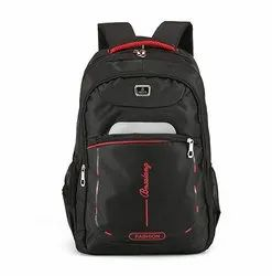 Black Priority School Bag