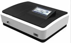 Touch Screen Double Beam Spectrophotometer Variable Bandwidth