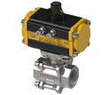 2-1/2 3PC Ball Valve with Actuator (SS-304)