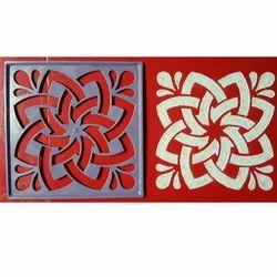 Floral Rangoli Pattern