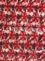 Embroidery and Digital Print Fabric