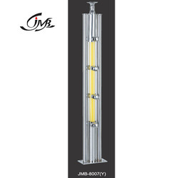 LED Light Stainless Steel Acrylic Baluster
