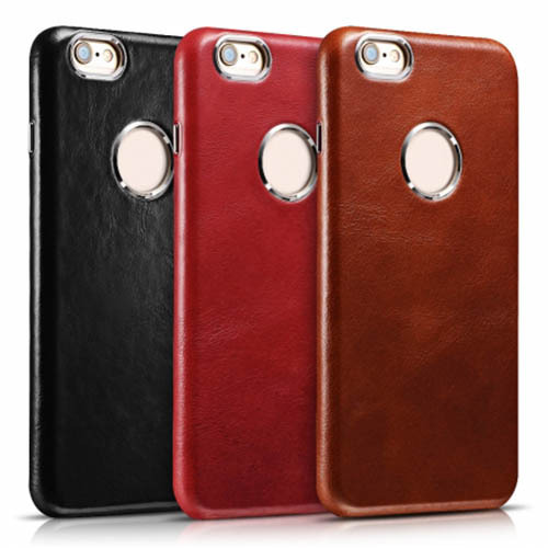 super popular 4828e 05fc6 Iphone 6 Leather Back Cover