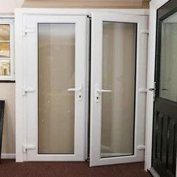 UPVC Designer Door, 5 Mm(Glass) And 108 Mm(Door)