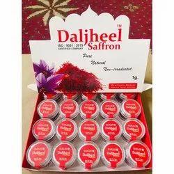 Daljheel Non-Irradiated Saffron, Packaging Size: 1g, Packaging Type: Plastic Box