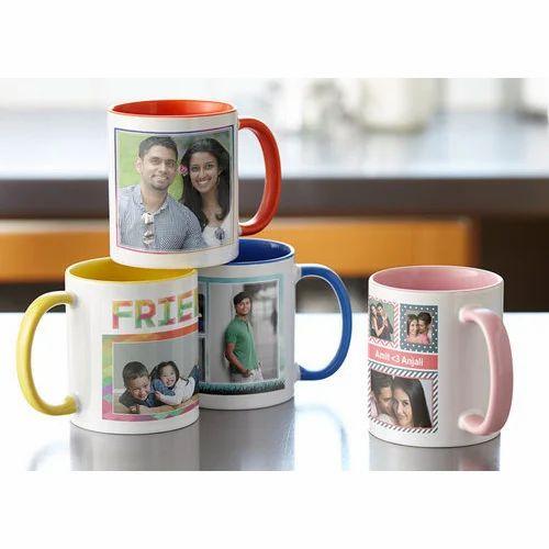 Multi Printed Coffee Mug Promotional Personalized Accept Bulk Order