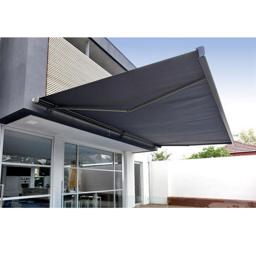 Grey Traditional Retractable Awning Canopy Rs 130 Square