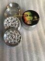 Bob Marley Sticker Smoking Grinders