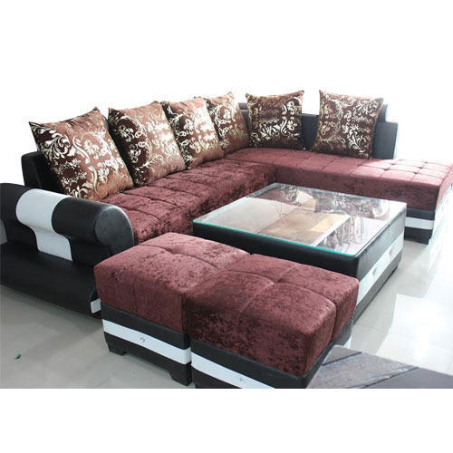 Incroyable Velvet Sofa Set