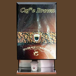 Cafe Brown Double Option Coffee Tea Vending Machine