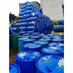 Water, Chemicals Blue HDPE Plastic Barrel for Packaging Industry, Capacity: 200 L