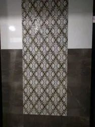 Double Charged Glossy 300x600 Mm Printed Ceramic Floor Tiles, For Flooring
