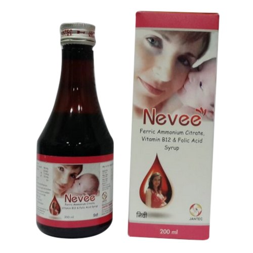 Jantec 200 ML Nevee Syrup, Packaging Type: Bottle+box, Packaging Size: 60 Bottles