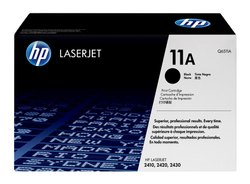 HP 11A Black Original Laser Jet Toner Cartridge (Q6511A)