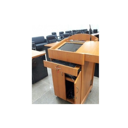 Digital Wood Podium