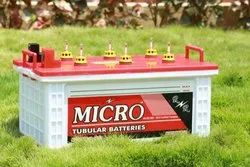 Micro Flat Tubular 12 V 80 Ah Batteries