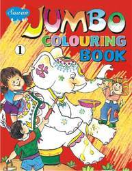 Jumbo Colouring Book 1
