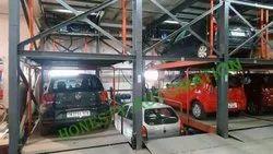 PLC Control Puzzle Car Parking System
