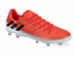 White Orange Men's Adidas Messi 16.1 Fg
