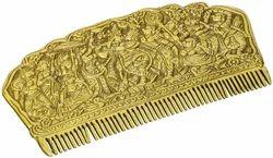 Radha Krishna Gopis Raas Leela Intricate Carving on Brass
