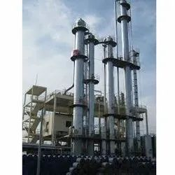 Industrial Distillation Plant